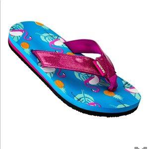 Other - Girls Flamingo Flip Flops
